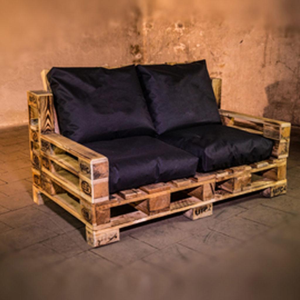 Lounge sofa aus paletten - Europaletten balkonmobel ...