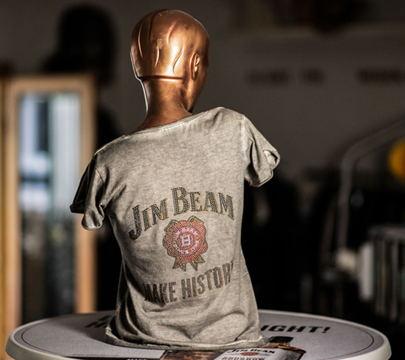 Local Heros Dortmund - Der Anfang - T-Shirt Jim Beam