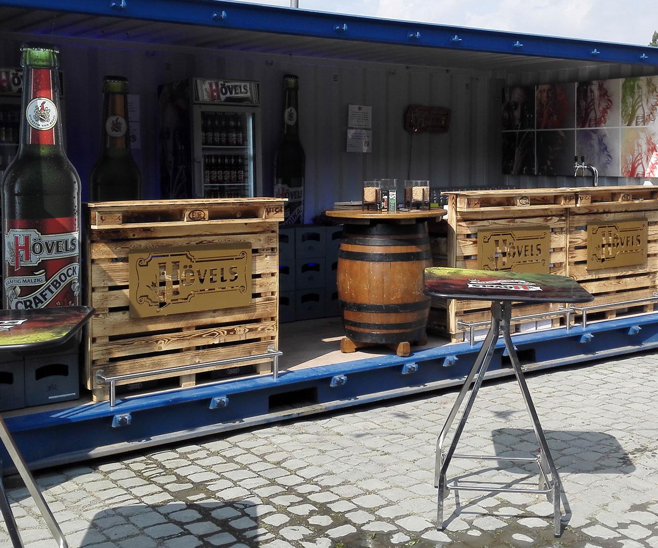 Hövels beim Festival der Dortmunder Bierkultur