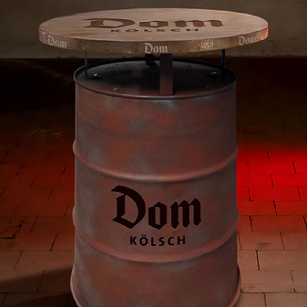Stehtischtonnen - LHD-Stehtischtonne-Dom-Koelsch