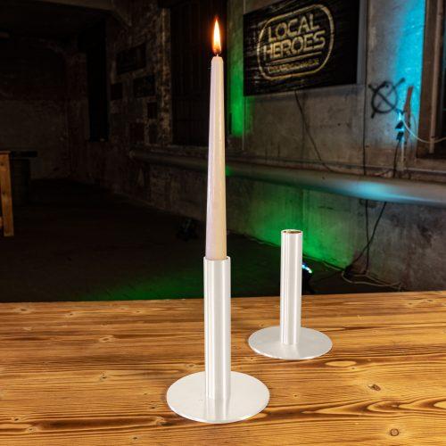 Kerzenhalter weiß - Kerzenhalter weiß